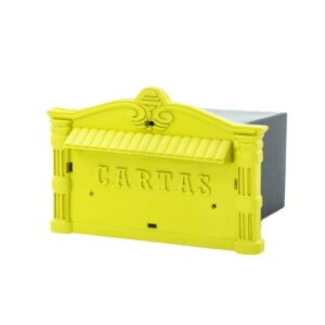Caixa de Correio PVC Amarela Thompson