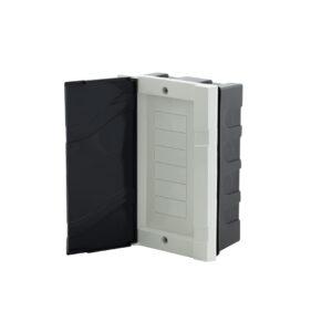 Quadro Disjuntor Branco para 6 disjuntores NEMA ou 8 disjuntores DIN