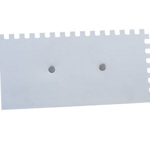 Desempenadeira Aço Dentada Cabo Plástico 12×24