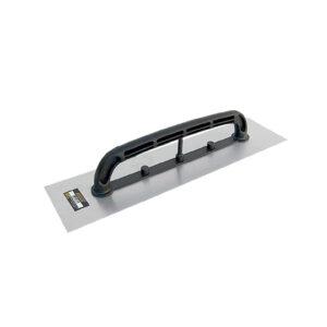 Desempenadeira Aço Lisa Cabo Plástico 12×48 Grande