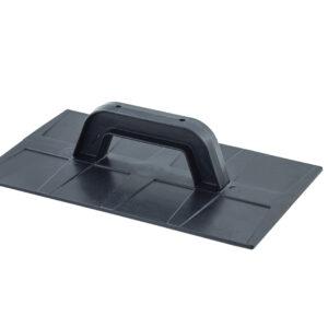 Desempenadeira Plástica Lisa Preta 18×30