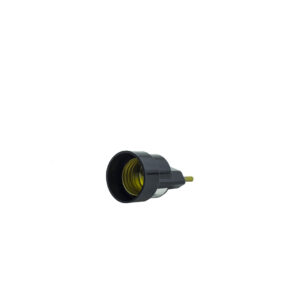 Soquete com Plug (pino porta lâmpada)